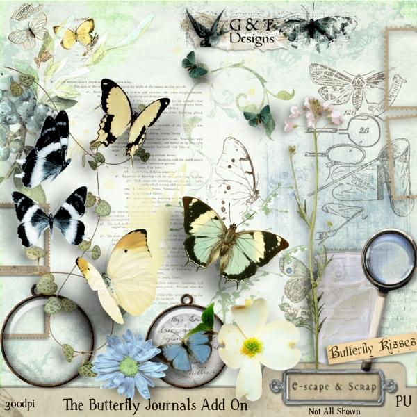 The Butterfly Journals - Add-on Kit
